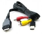 USB AV kabel pro Sony DV 3x CINCH, 1x USB - VMC-MD2