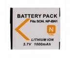 Baterie NP-BN1 1000mAh pro SONY fotoaparáty High Capacity