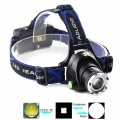 Zvětšit fotografii - Čelová svítilna - čelovka LED XML-T6 až 600 lumenů, zoom, outdoor