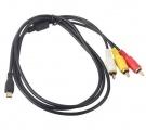 Zvětšit fotografii - VMC-15MR2 - AV audio-video kabel pro kameru SONY Handycam řady HDR-CX, HDR-PJ
