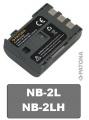 PT1002IX Baterie Canon NB-2LH, BP-2LH, BP-2L5 PowerShot S30 S40 S45 S50 S60 570mAh Li neoriginální