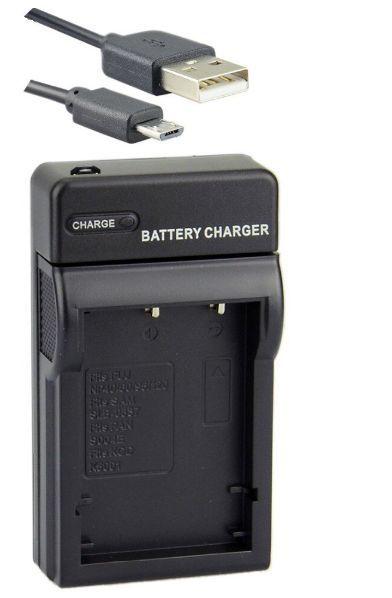 USB Nabíječka pro fotoaparáty, kamery Samsung, Pentax, Practica, Sanyo, EasyPix