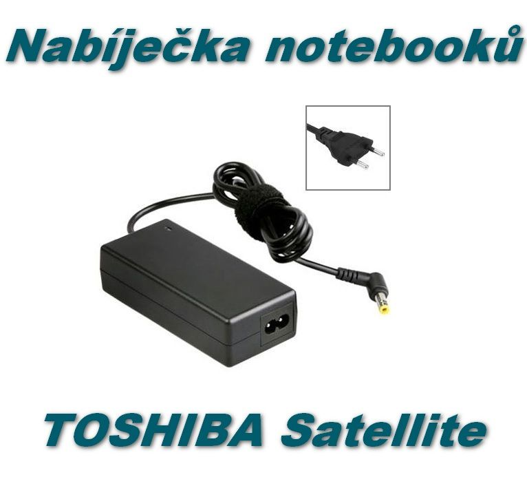 AC adaptér, nabíječka notebooků Toshiba Satellite 19V 3,42A 5,5x2,5mm 65W