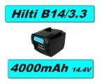 AKU Baterie Hilti B14/3.3 14.4V, Li-Ion, 4000mAh neoriginální
