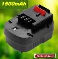 Baterie pro AKU Black & Decker FS120B, FSB12, A12, HPB12, FS120BX 12V Ni-MH 1500mAh neoriginální