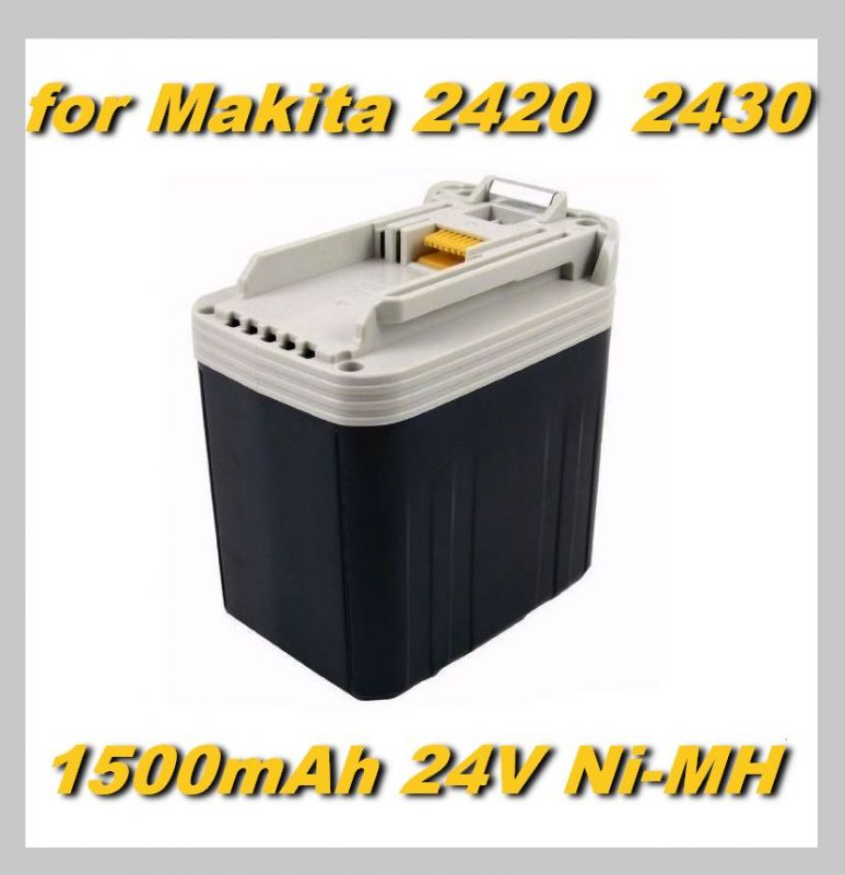Baterie Makita 2420, 2430 do BML240, BHP460, BDF460, BHR200, BJR240 1500mAh 24V