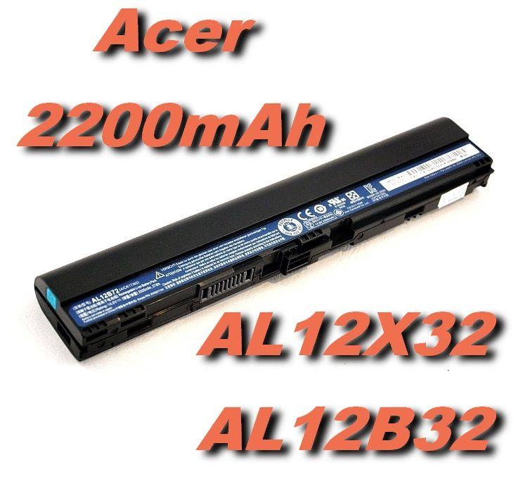 Baterie AL12X32 AL12B32 pro Acer Aspire One 725, 755, 756, V5-131 14,8V 2200mAh