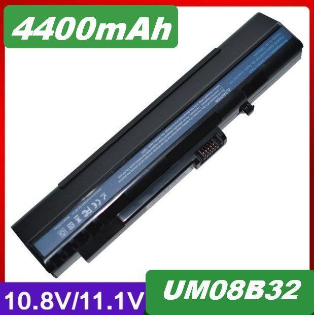 Baterie UM08A31, UM08B32 pro Acer Aspire One ZG5, D250, D150 4400mAh Li-Ion 11,1V