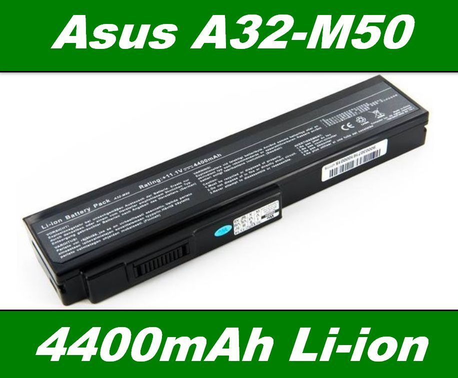 Baterie A32-M50, A33-M50 pro Asus G50, G51, L50, M50, M60, X5M 4400mAh neoriginální
