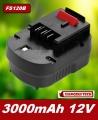 Baterie Black & Decker FS120B, FSB12, HPB12, FS120BX 12V 3000mAh Ni-MH neoriginální