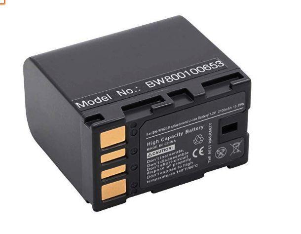 Baterie BN-VF808 BN-VF815 BN-VF823 s čipem 2100mAh 7,2V pro videokameru JVC