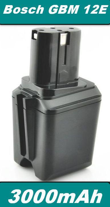 Baterie Bosch GBM 12 VE, GSB 12 VE, GSR 12 VE, GSB 12VES 12V 3000mAh Ni-MH neoriginální