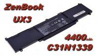 Baterie C31N1339 pro Asus 4400mAh 11,31V Li-Pol nahrazuje ORIGINÁL