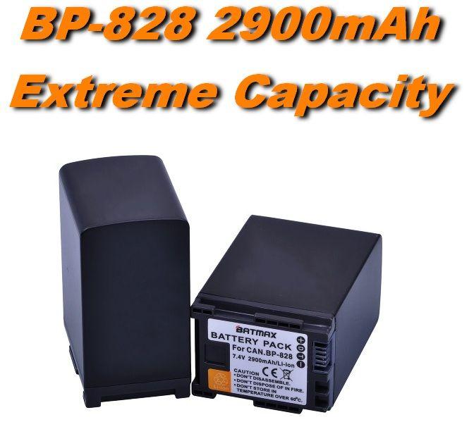 Baterie Canon BP-820, BP-828 - 2900 mAh