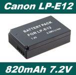 Baterie Canon LP-E12 820mAh