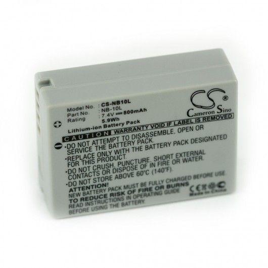 Baterie Canon NB-10L 800mAh 7,4V Li-ion neoriginální