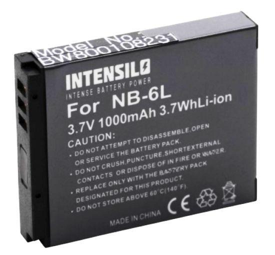 Baterie Canon NB-6L - 1000 mAh