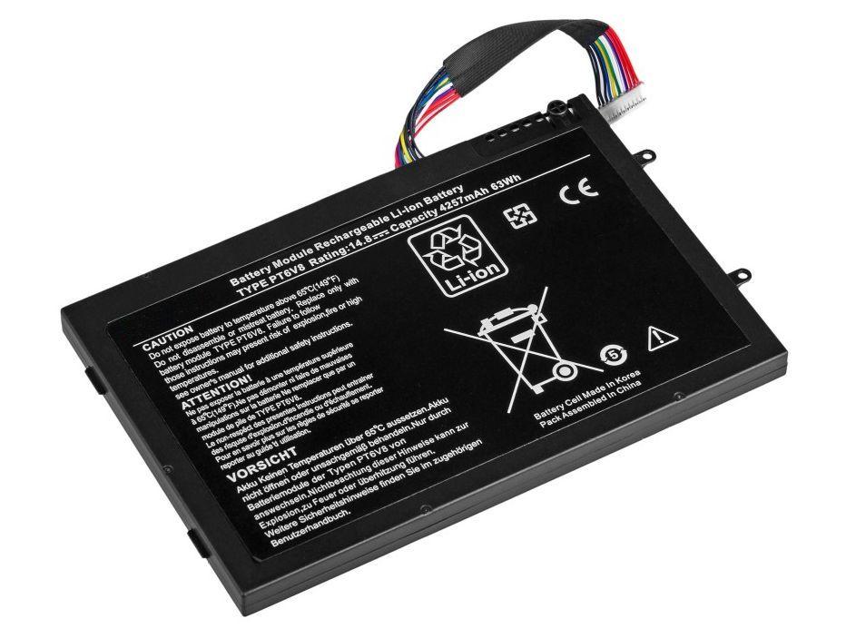 Baterie Dell Alienware M11x, M14x, P06T, P18G 14,8V 4400mAh
