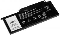 Baterie pro Dell Inspiron 15-7537, P36F, 7737, 7746 14,4V 3900mAh Li-Pol