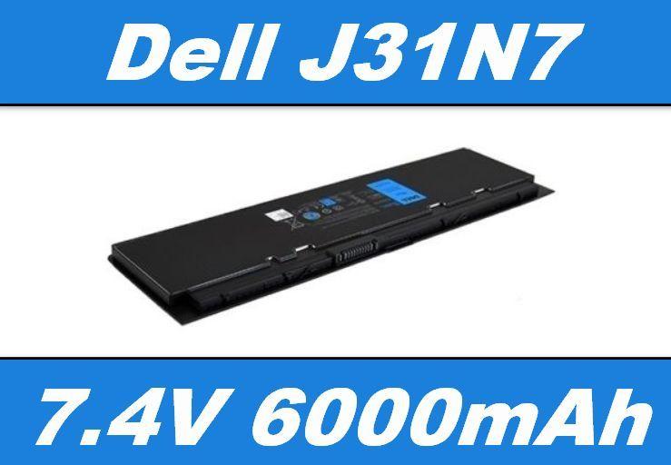 Baterie J31N7, KWFFN pro DELL Latitude E7240, E7250 6000mAh Li-Pol 7,4V