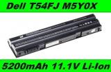 Baterie T54FJ, M5Y0X, 8858X pro Dell Latitude E5420, E5430, E6420 5200mAh Li-Ion neoriginální