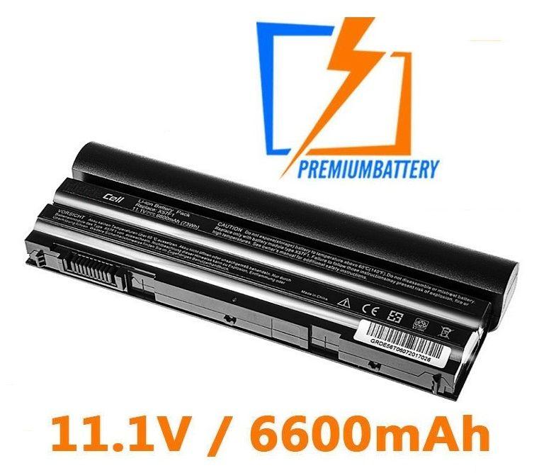 Baterie T54FJ, M5Y0X, 8858X pro Dell Latitude E5420, E5430, E6420 6600mAh Li-Ion 11,1V
