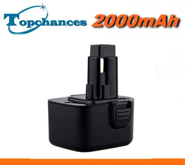 Baterie Dewalt DC9071, DE9071, DE9037, DE9072, DE9074, DE9075 2000mAh 12V nahrazuje ORIGINÁL