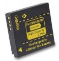 Baterie DMW-BCF10, DMW-BCF10E, DMW-BCF10GK, CGA-S/106C pro fotoaparát Panasonic 700mAh