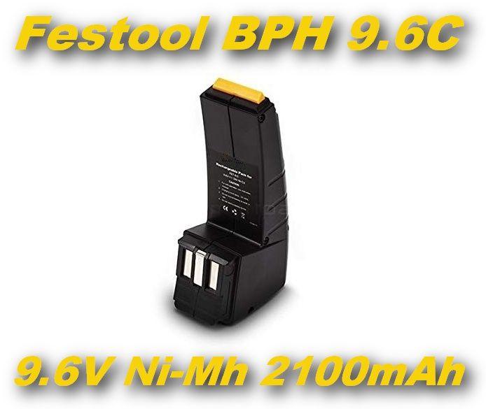 AKU Baterie BPH 9.6C pro Festool CCD9.6, CCD9.6ES , CCD9.6FX, CDD9.6 2100mAh 9,6V Ni-MH