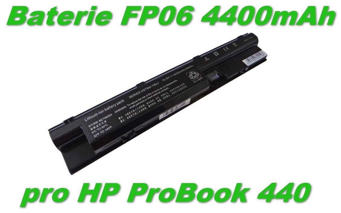 FP06 Baterie HP ProBook 440 4400mAh Li-Ion 11,1V