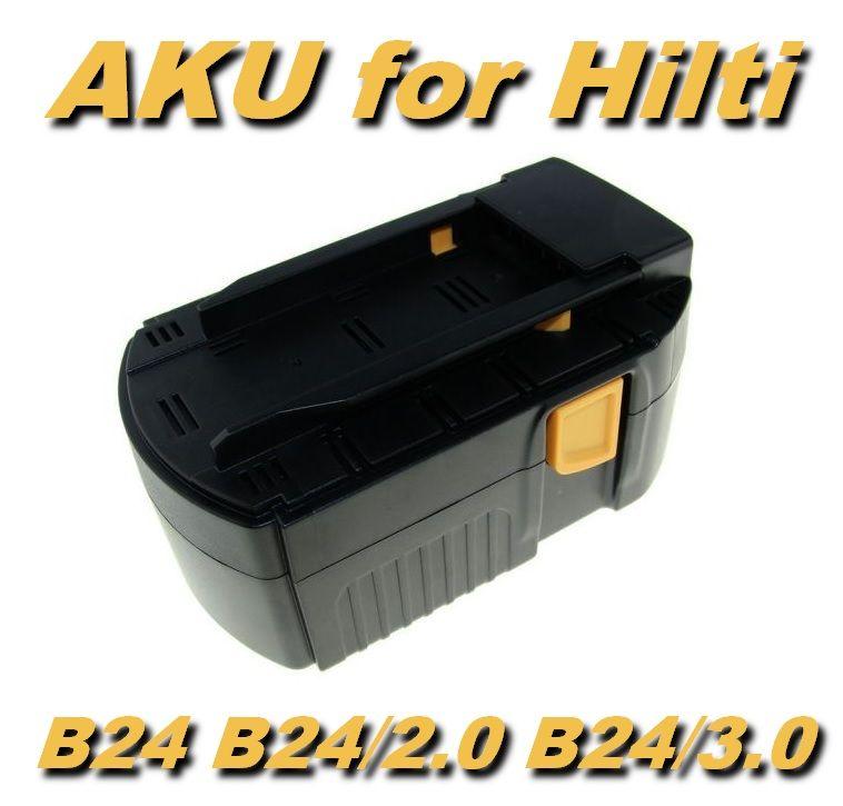 Baterie Hilti B24, B24/2.0, B24/3.0, B24V 3500mAh 24V Ni-MH