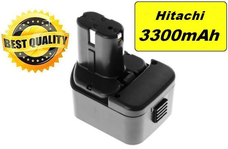 Baterie Hitachi C 5D, C5D, WR12DM, WH 12DM, UB 12DL, WH 12DAF 12V 3300mAh Ni-MH