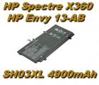 Baterie CN03XL HSTNN-LB7L pro HP Spectre X360 13-AB001, HP Envy 13-AB 4900mAh nahrazuje ORIGINÁL