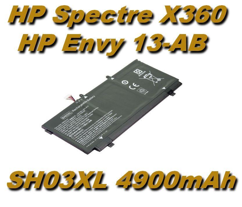 Baterie CN03XL HSTNN-LB7L pro HP Spectre X360 13-AB001, HP Envy 13-AB 4900mAh