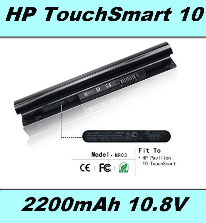Baterie MR03 pro HP TouchSmart 10, Pavilion 10 2200mAh 10,8V Li-Ion neoriginální