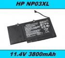 Baterie NP03XL pro HP Pavilion X360 13-A010DX 3800mAh 11,4V Li-Pol neoriginální