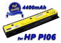 Baterie PI06, HSTNN-LB4N pro HP Pavilion 14, 15, 17 HP Envy 14, 15, 17 4400mAh nahrazuje ORIGINÁL