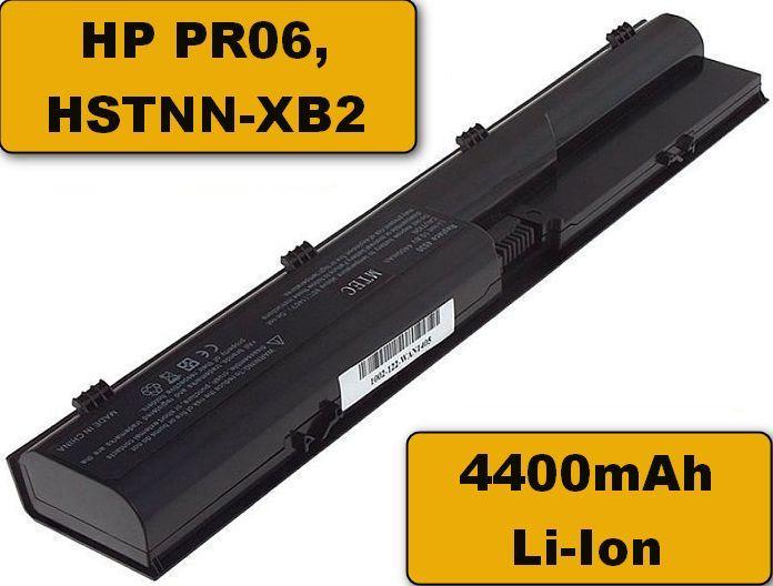 Baterie HP PR06, HSTNN-XB2 pro HP Probook 4330s, 4430s, 4435s, 4530s 4400mAh Li-Ion