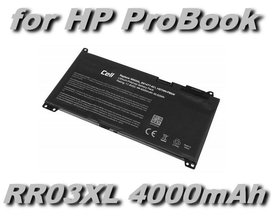 RR03XL Baterie pro HP ProBook 430 G4, 440 G4, 450 G4, 455 G4, 470 G4 - 4000mAh 11,4V Li-Polymer