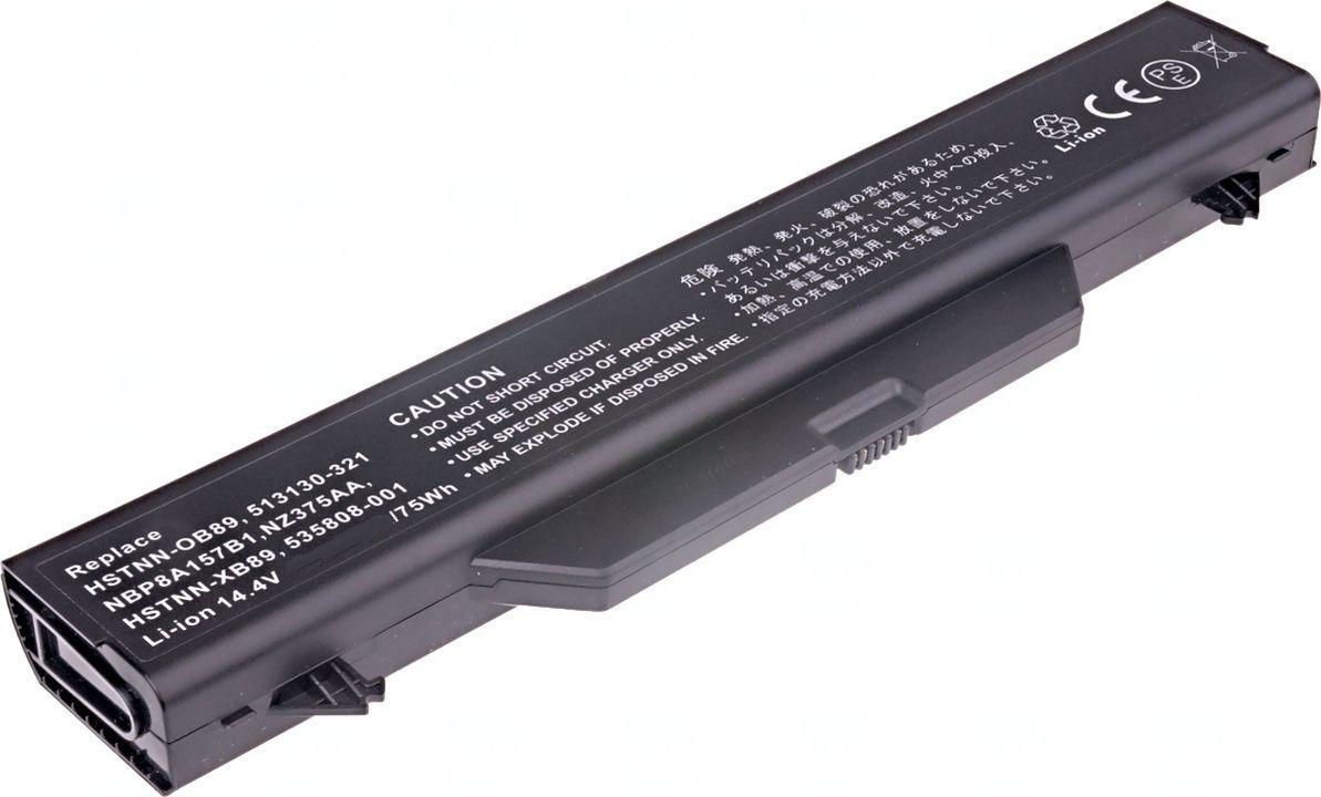 Baterie HSTNN-IB89, HSTNN-OB89 pro HP ProBook 4510s, 4515s, 4710s 6600mAh 14,8V Li-Ion