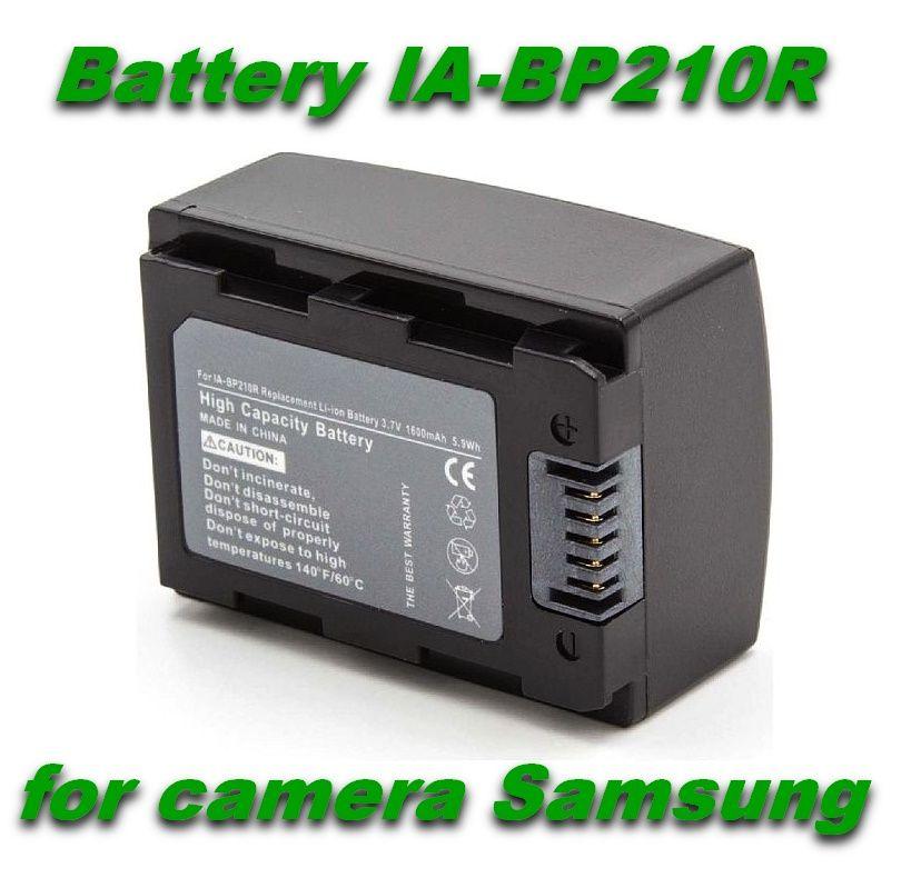 Baterie IA-BP205R, IA-BP210R 1600mAh pro kameru Samsung