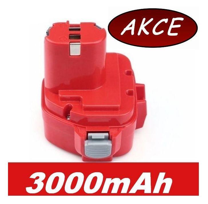 Baterie pro AKU Makita 1050D 3000mAh 12V Ni-Mh