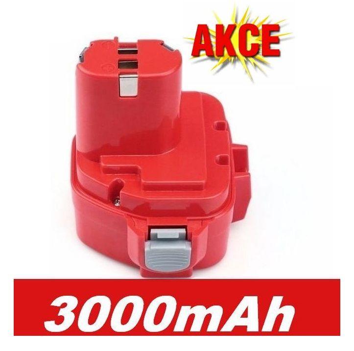 Baterie pro AKU Makita 1050D 3000mAh 12V Ni-Mh neoriginální