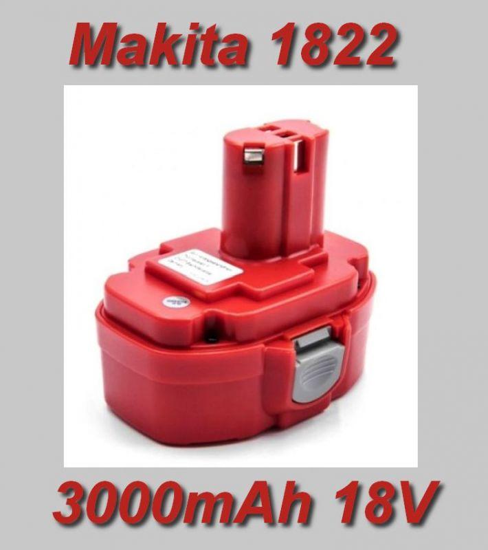 AKU baterie Makita 1822 3000mAh 18V Ni-MH