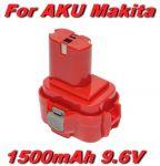 Baterie Makita 1500mAh 9,6V Ni-MH nahrazuje ORIGINÁL