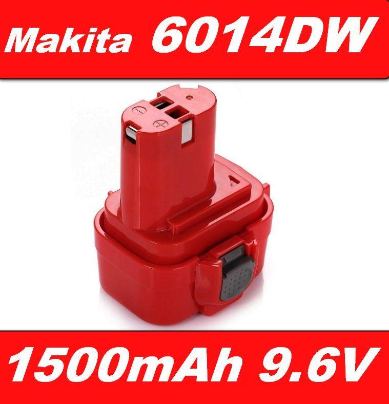 Baterie Makita 9100, 9101, 9102 pro Makita 6705DWA, 6014DW, 6201D 1500mAh 9,6V Ni-Mh