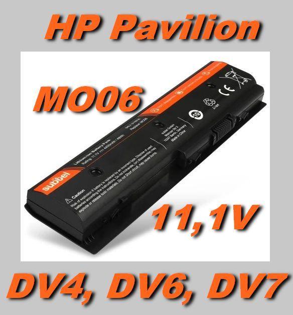 Baterie MO06, MO09 pro HP Pavilion DV4-5000, DV6-7000 DV7-7000, M7, HP Envy M6 4400mAh