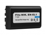 Baterie Nikon EN-EL1, Minolta NP-800 600mAh neoriginální