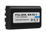 Baterie Nikon EN-EL1, Minolta NP-800 1100mAh Li-Ion neoriginální