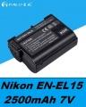 Baterie Nikon EN-EL15 2500mAh Li-Ion 7V neoriginální
